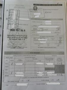 Copia della concessione edilizia in sanatoria rilasciata dal Comune (in caso di immobili condonati)