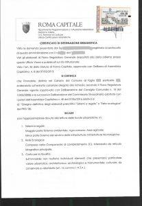 Certificato di destinazione urbanistica (solo per i terreni)